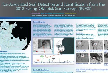 Ice associated seal detection